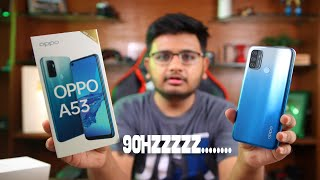 OPPO A53 Unboxing   Most Affordable 90Hz in Pakistan.