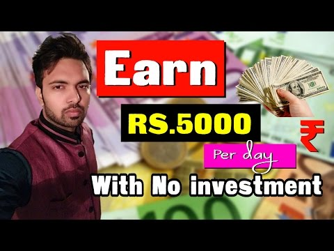 Earn Rs 5000 Per Day | No investment | Earn Money Online | Sell