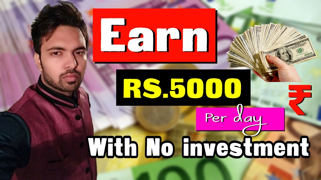how to make money with 5000 investment