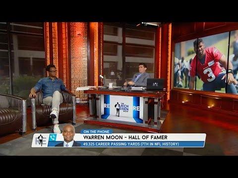 Hall of Famer Warren Moon on Russell Wilson