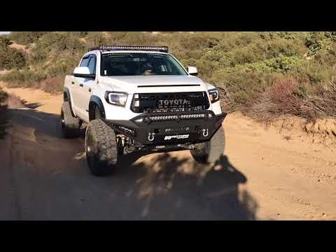 Supercharged Tundra TRD Pro At Cleghorn Trail