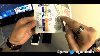 ELIMINA rayones de cualquier celular Smartphone