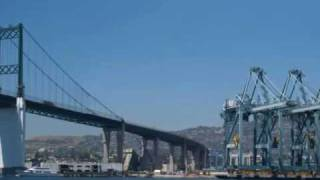 Harbor About Face: Bridge to Clocktower from the Turning Basin, San Pedro and Wilmington, CA, 2008