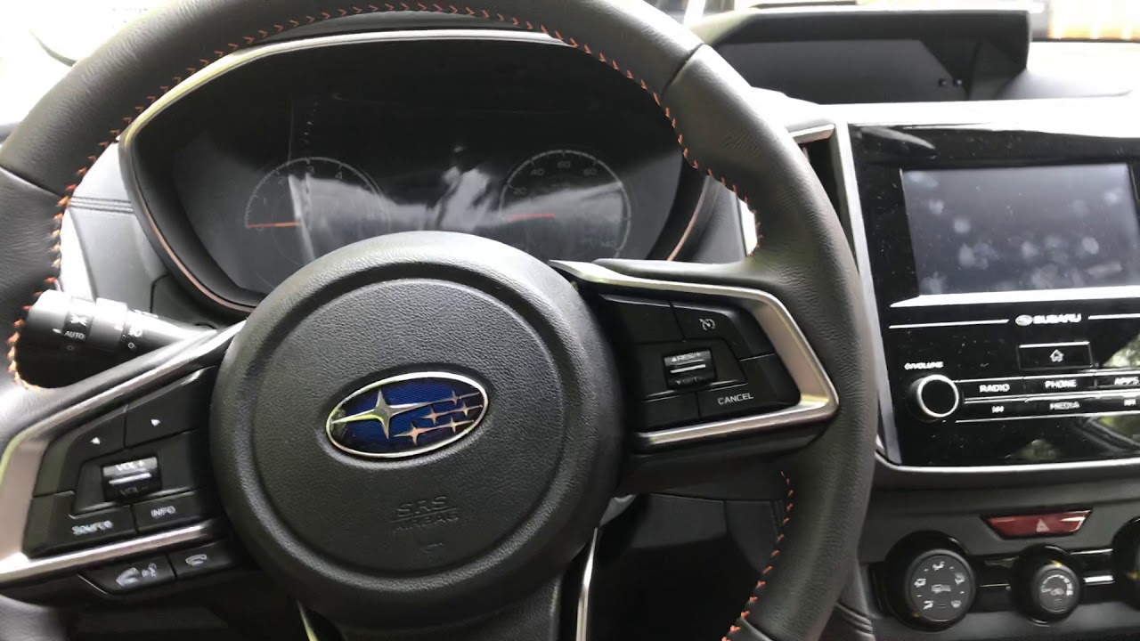 Part One Interior Review Of 2018 2019 Crosstrek Subaru Bc Youtube