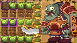 Plants Vs Zombies 2: New Plants Chestnut Squad Vs Zomboss