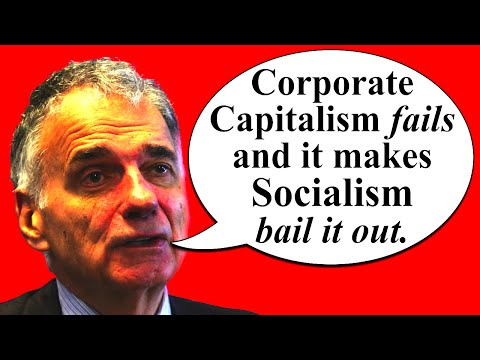 "Truth about Wall Street Bailout: How ""Free Market Capitalism"" Really Works. Nader & Chomsky on Game"