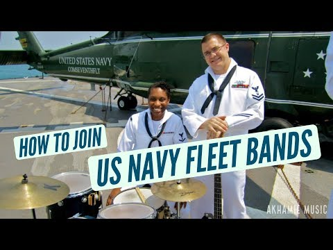 How To Join US Navy Fleet Bands