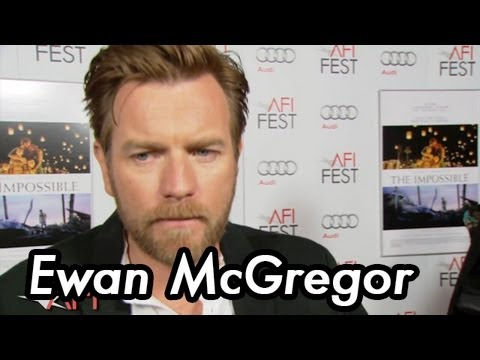 Ewan McGregor And Juan Antonio Bayona On THE IMPOSSIBLE  At AFI FEST Presented By Audi