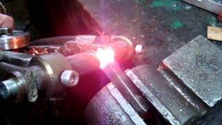 Пайка резцов с помощью контактной сварки / The soldering of cutters with the help of contact welding(видео о том как с помощью контактной сварки паять резцы Мой канал: https://www.youtube.com/channel/UCpt4EHBhBdVVWNrmfLK_gJA/videos Самод..., 2015-03-07T22:36:28.000Z)
