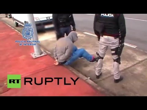 Spain: 3 tonnes of cocaine seized in record-breaking drug bust