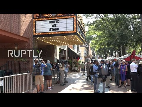 LIVE: Charlottesville holds funeral for victim of car attack