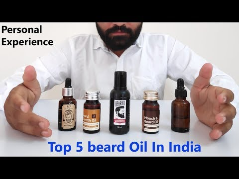 Top 5 Beard Oils In India (2019) | Best Beard Growth Oils