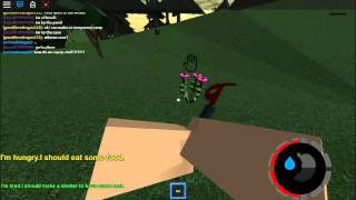 roblox island survival the forest