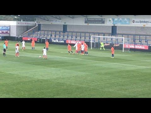 England U20's 3-0 Holland U20's | PENALTY MISS + Free Kick GOAL