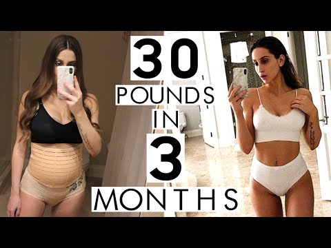 How I lost 30 lbs in 3 Months | Postpartum Weight Loss Update