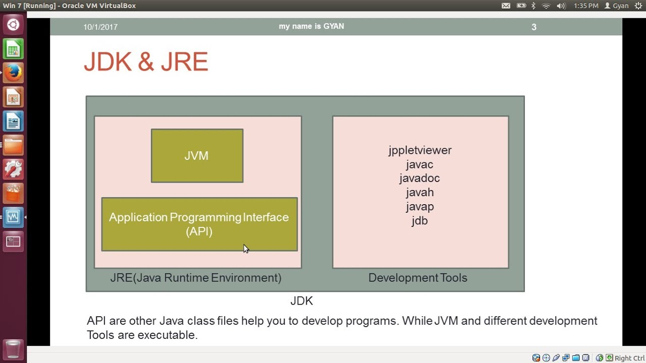 Difference Between JDK and JRE | JDK vs JRE - my name is GYAN