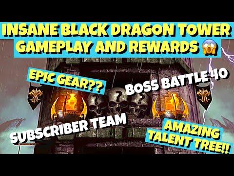 This Team Is CRACKED!! Mortal Kombat Mobile. Black Dragon Tower Gameplay.