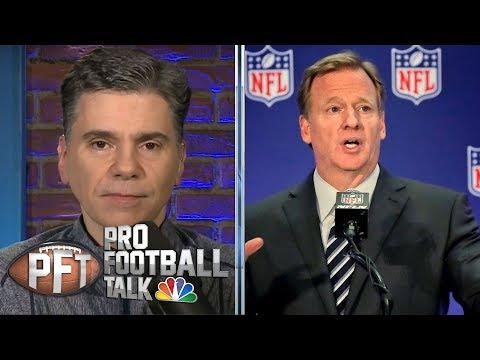 Roger Goodell: NFL Draft will 'go forward as scheduled' | Pro Football Talk | NBC Sports