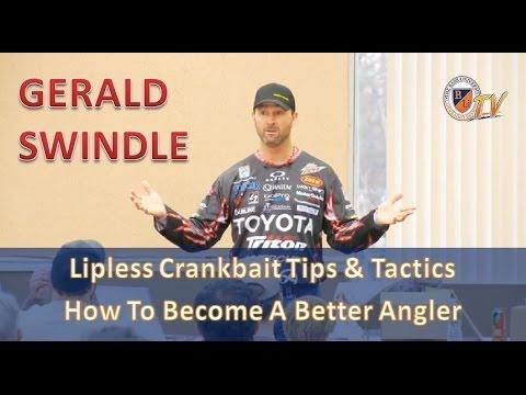 GERALD SWINDLE's Lipless Crankbait Tips & Tactics for Bass