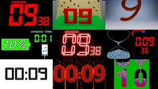 Countdown 10 to 0 Numḃers Compilation