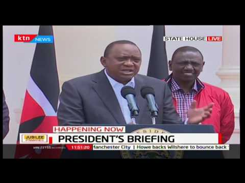 President Uhuru Kenyatta: Nobody expected the turn out of events of day Jubilee one primaries