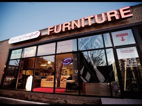 Home of Comfort Furniture YouTube