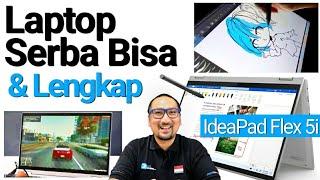 Laptop Lengkap untuk Semua: Review Lenovo IdeaPad Flex 5i - Indonesia