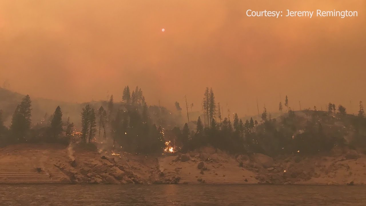 Creek Fire doubles in size, burns more than 73,000 acres