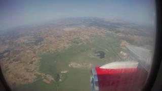 Palma Airport landing + Taxi - Full decent - Boeing 757-200 JET2 LS831 (Majorca)