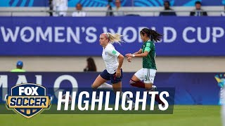 Mexico U-20 team faces devastating defeat vs England | 2018 FIFA U-20 Women's World Cup™ Highlights