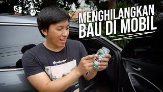 Mengetes Alat Penghilang Bau dan Bakteri di Mobil