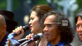 Download lagu FULL VIDEO 5: Raisa, Slank & Paduan Suara GBN Meriahkan Upacara Kemerdekaan RI ke 71