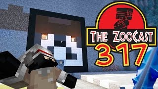Minecraft Jurassic World (Jurassic Park) ZooCast - #317 The Caff Exhibit!!!