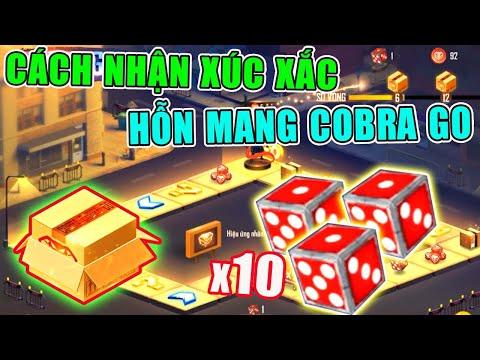 [Free Fire] Hướng Dẫn Nhận Xúc Xắc Hỗn Mang Cobra Go Đổi Quà Free Cực Ngon | Lưu Trung TV