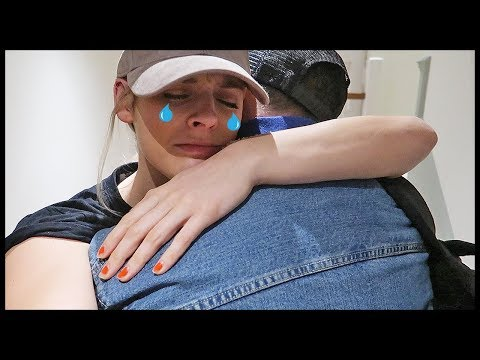 HE'S LEAVING ME!