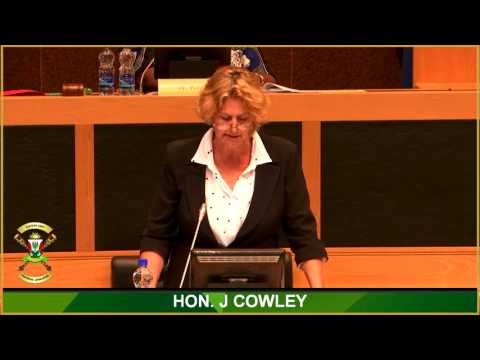 MPL Cowley's full maiden speech delivered at the Eastern Cape Provincial Legislature