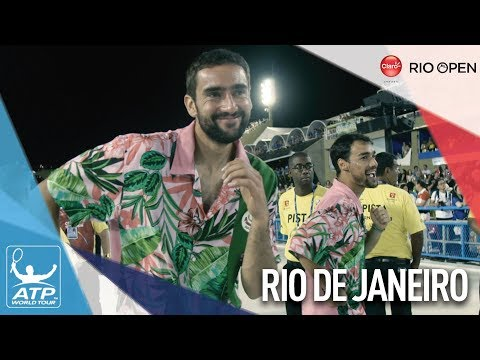 ATP World Tour Stars Take On Rio Carnival