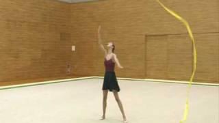 Alina Kabaeva Rhythmic Gymnastic Training Tips Ribbon