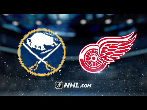 Tatar, Larkin lead Red Wings to 3-1 win vs. Sabres