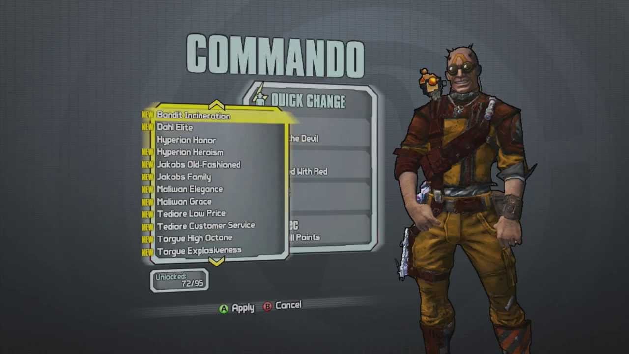 Borderlands 2 -- Axton the Commando's Devilish Good Looks ... Borderlands 2 Max Backpack