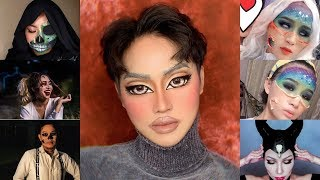 Top 5 Easy Halloween Makeup Tutorials Compilation 2019 - Makeup Transformation #56
