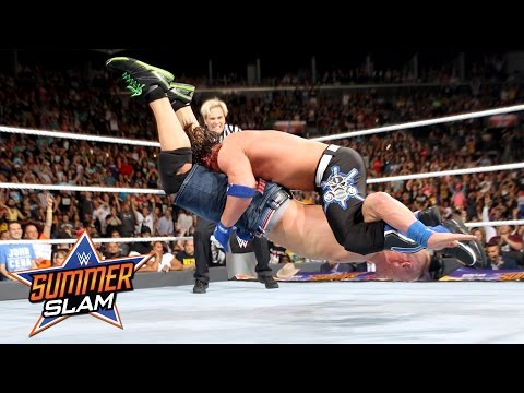 John Cena vs. AJ Styles: SummerSlam 2016,...