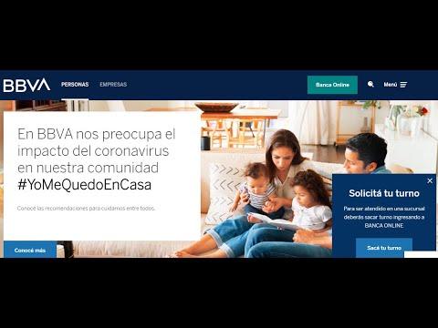 Turnos Banco BBVA desde el 20/04/2020 (ex frances) desde el Celular