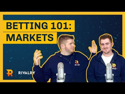 Esports Betting 101 - What are the different types of bets?