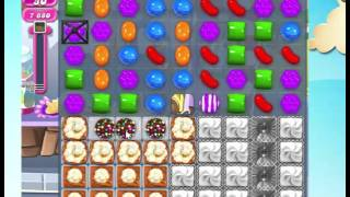 Candy Crush Saga Level 1157 in only 10 moves!  NO BOOSTERS