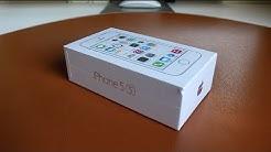 iPhone 5S   Contenido de la caja