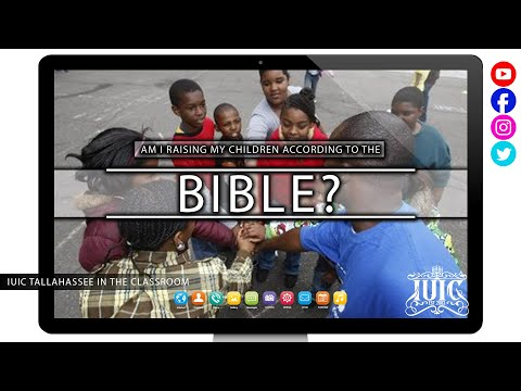 The Israelites: Am I Raising My Children According to The Bible?