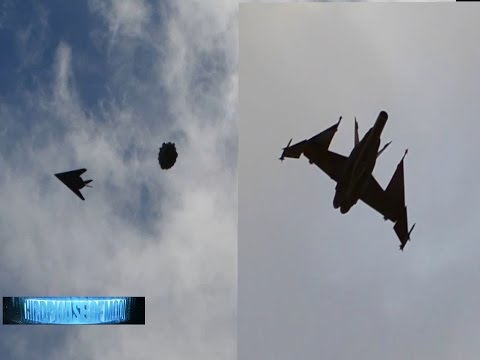 LEAKED UFO Near Collision!! Military Jet Chases UFO! Secret Alien Craft!? Family Shocked! 9/22/2016