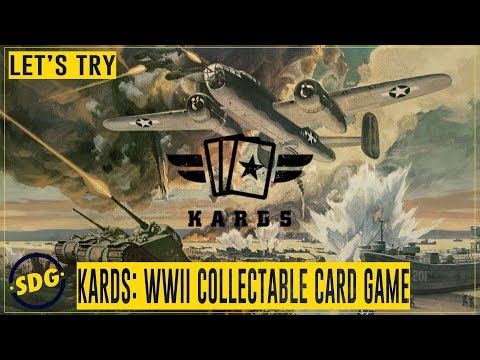 Let's Try Kards World War II Collectable Card Game - Tutorial & Gameplay - ScottDogGaming thumbnail