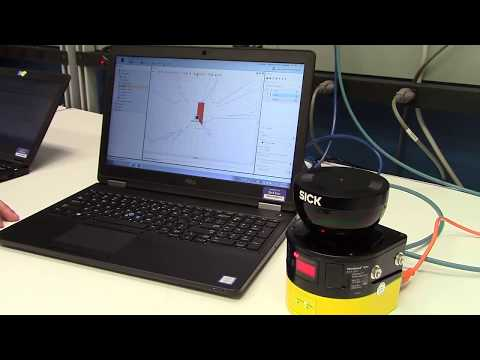 microScan3 Core – EtherNet/IP with CIP Safety Demonstration
